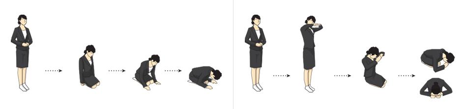 여성 공수 및 절하는 방법